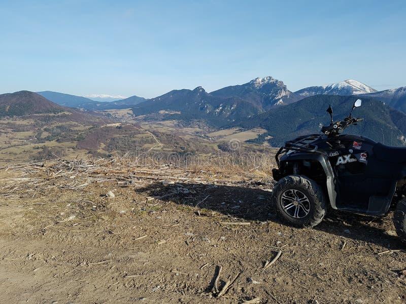 Montagne Rozsutec in Slovacchia immagini stock