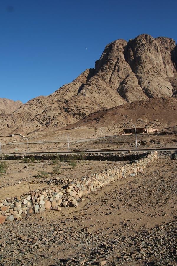 Montagne Sinai photo stock