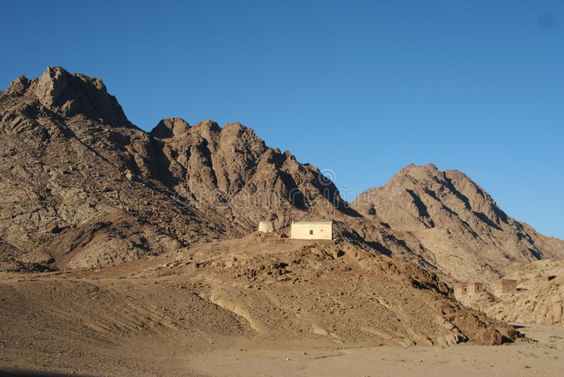 Montagne Sinai image libre de droits
