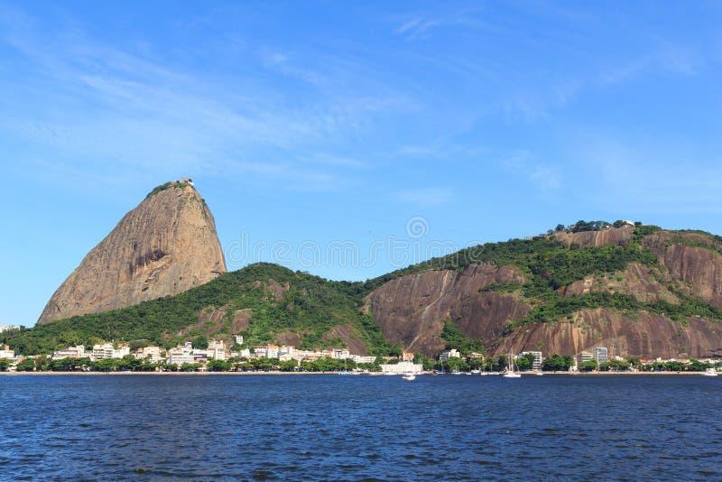Montagne Sugarloaf, Rio de Janeiro, Brésil photographie stock libre de droits