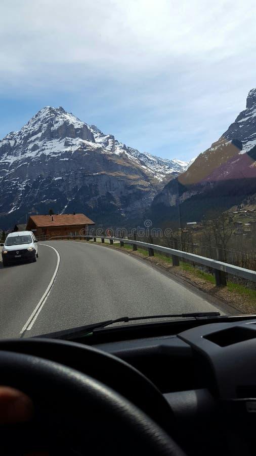 Montagne svizzere immagine stock libera da diritti