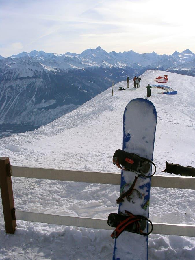 Montagne svizzere delle alpi fotografie stock