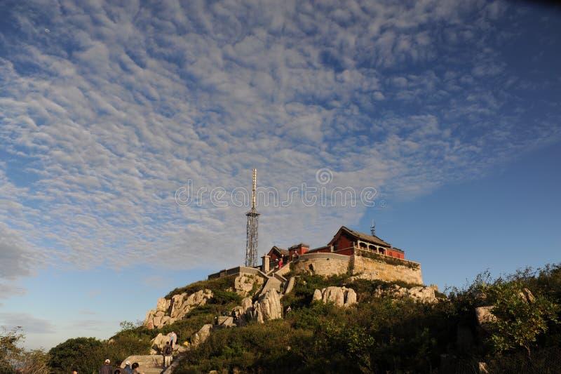 Montagne Tai en Chine photos stock