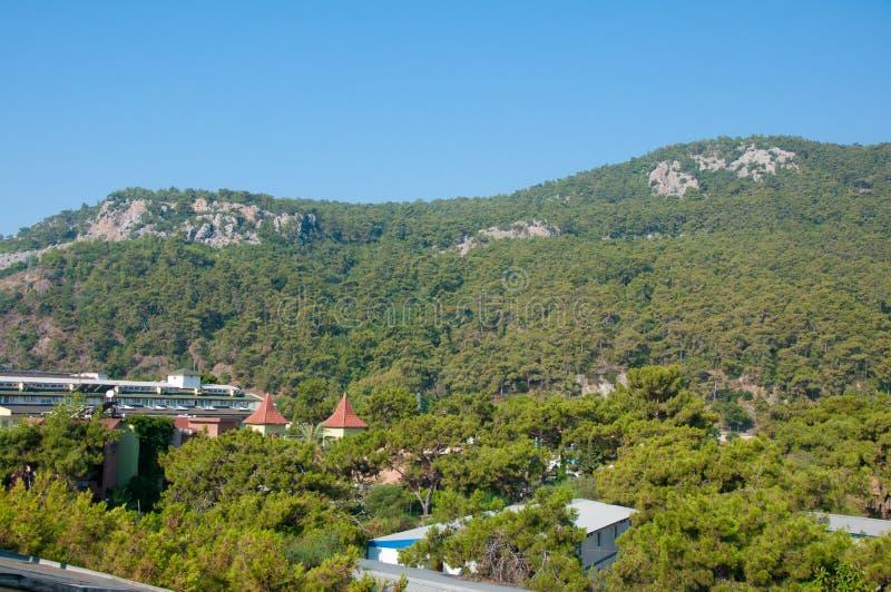 Montagne turche di estate fotografia stock