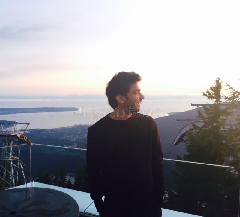 Montagne Vancouver de grouse photographie stock libre de droits