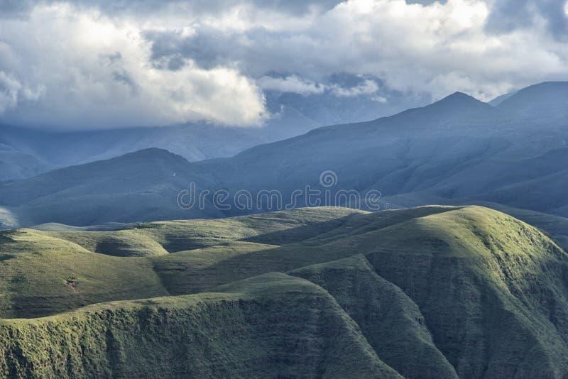 Montagne vicino a Tarija fotografia stock libera da diritti