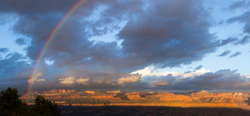 Montagne in Zion NP, Utah fotografia stock