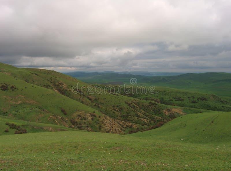 Montagnes à Bakou image stock
