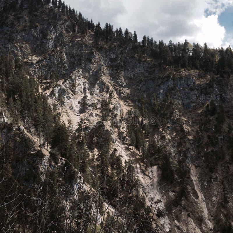 Montagnes épiques images libres de droits