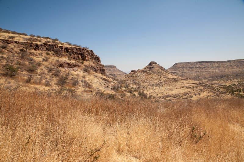 Montagnes africaines photographie stock libre de droits