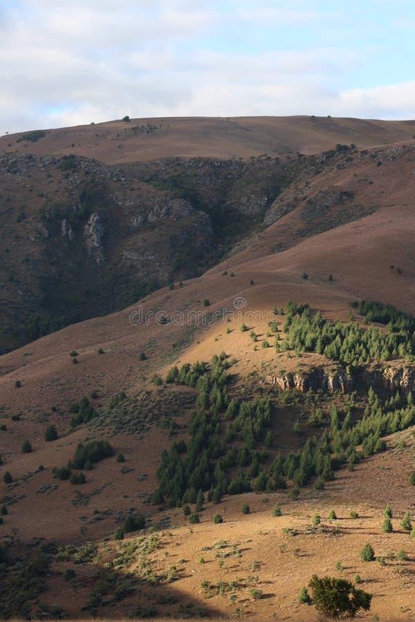 Montagnes africaines - montagnes Lydenburg illustration de vecteur
