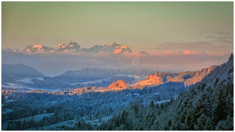 Montagnes allemandes photos stock