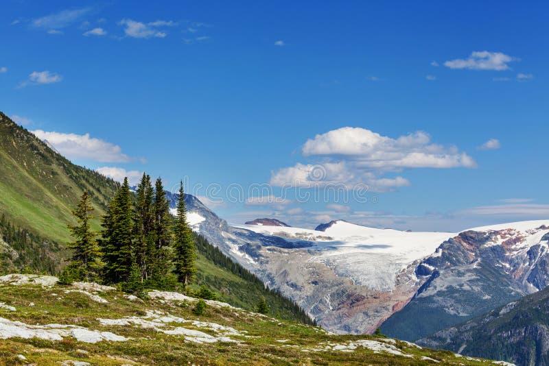 Montagnes au Canada image libre de droits