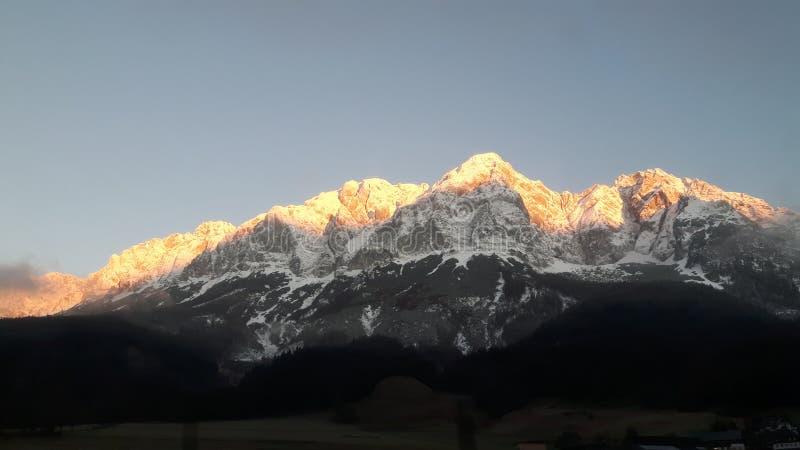 Montagnes autrichiennes photographie stock libre de droits