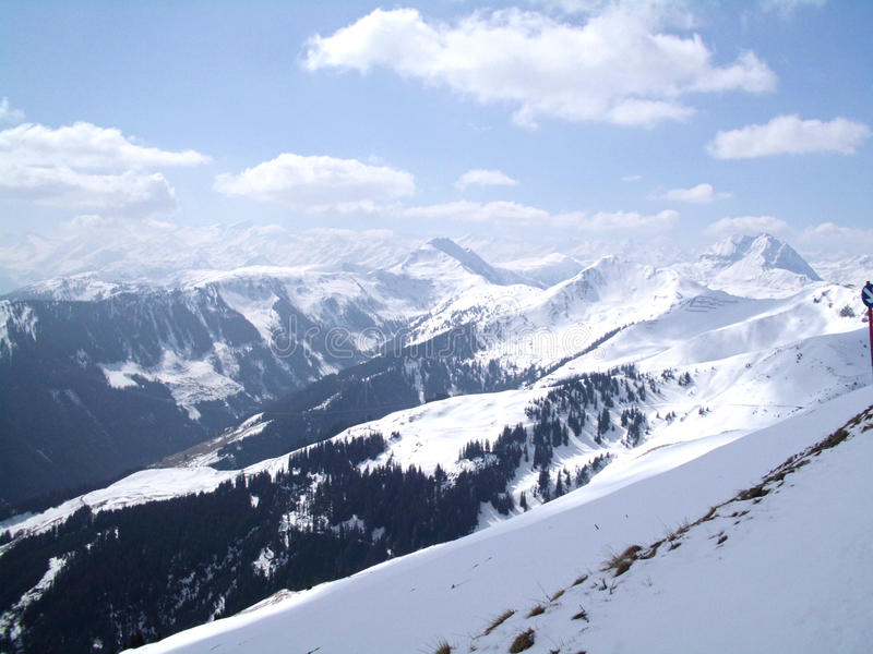 Montagnes autrichiennes photos stock