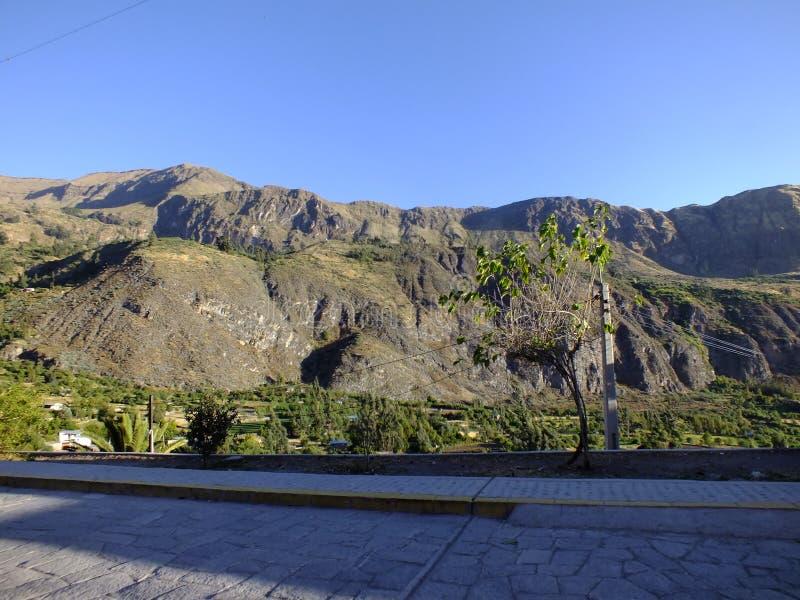 Montagnes Cotahuasi, Arequipa, Perú de nature images stock
