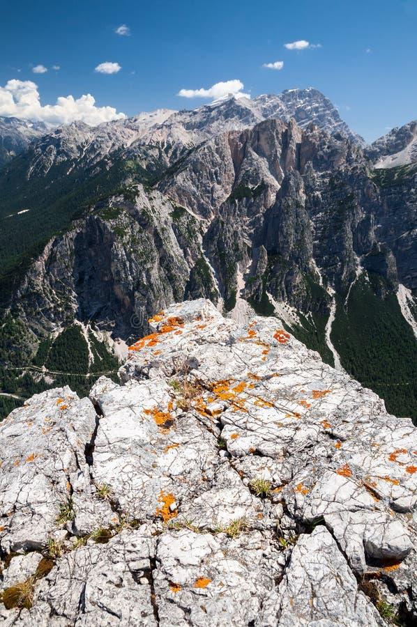 Montagnes, détail des roches photographie stock libre de droits