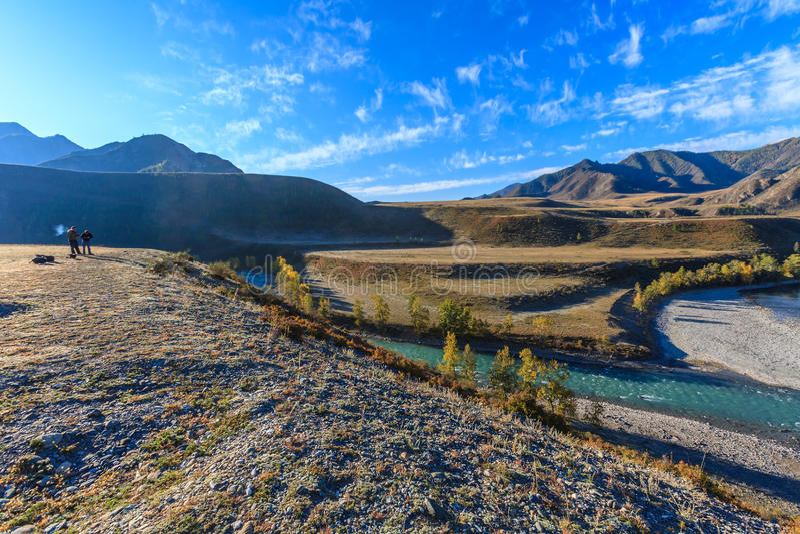 Montagnes d'Altai photos libres de droits