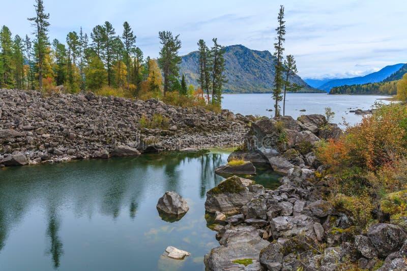 Montagnes d'Altai photo libre de droits