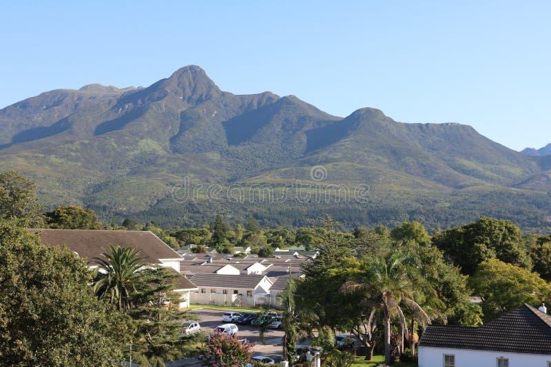 Montagnes d'Outeniqa, George, le Cap-Occidental, Afrique du Sud image stock