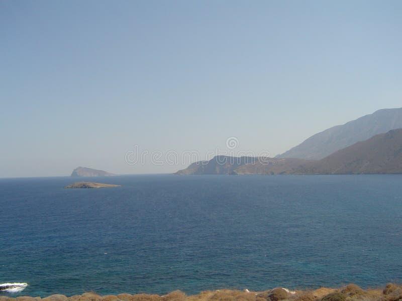 Montagnes dans Kreta photo libre de droits