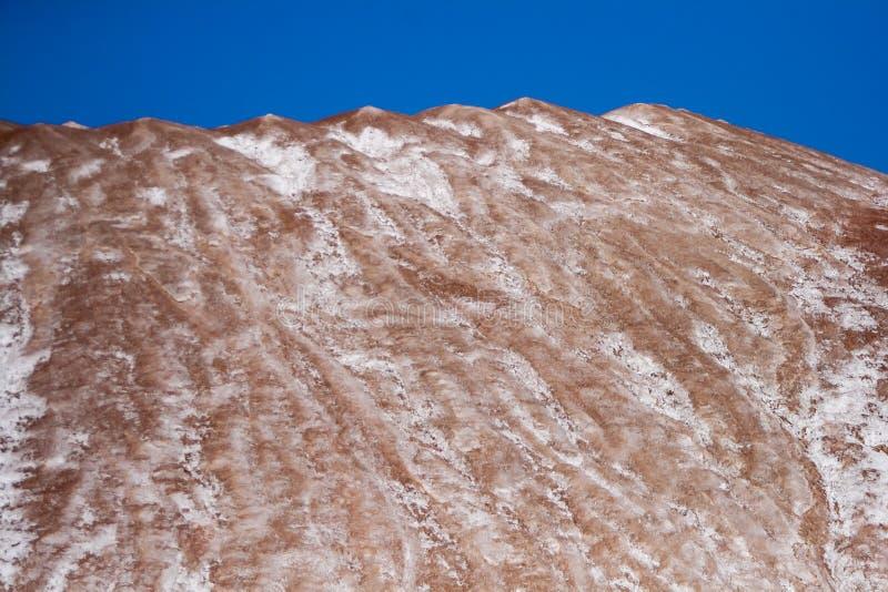Montagnes dans Saligorsk photos stock