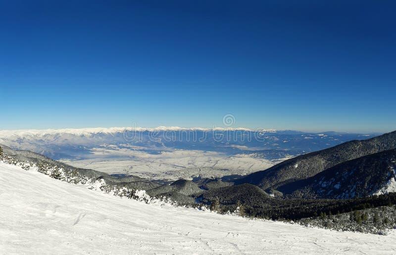 Montagnes de Bansko photo libre de droits