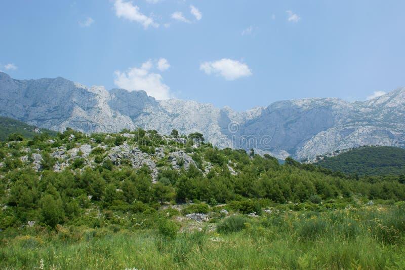 Montagnes de Biokovo photos stock