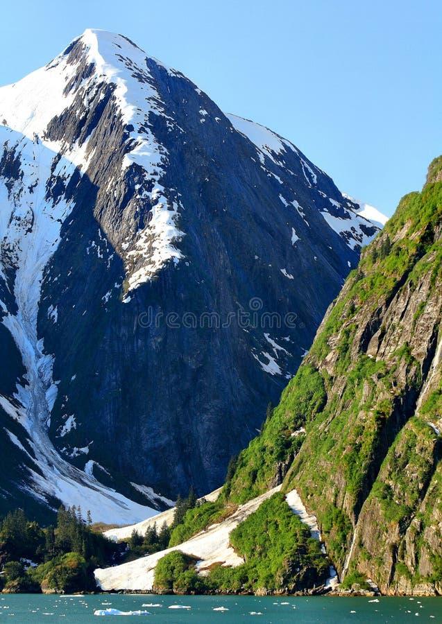 Montagnes de bleu photo libre de droits