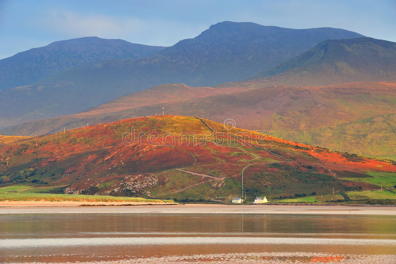 montagnes de brandon photo stock