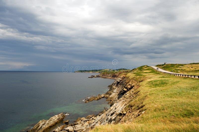 Montagnes de Breton de cap photos stock