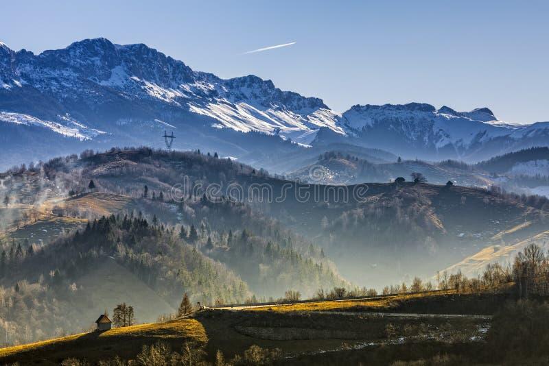 Montagnes de Bucegi photographie stock libre de droits