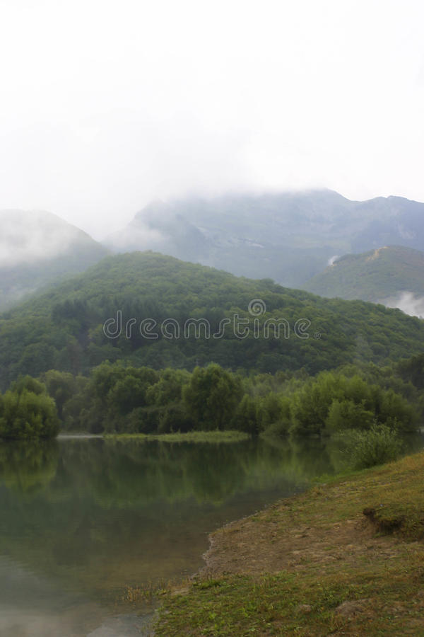 Montagnes de Campocatino photo stock