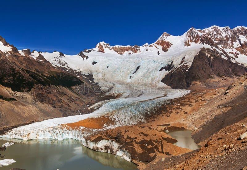 Montagnes de Cerro Torre image libre de droits