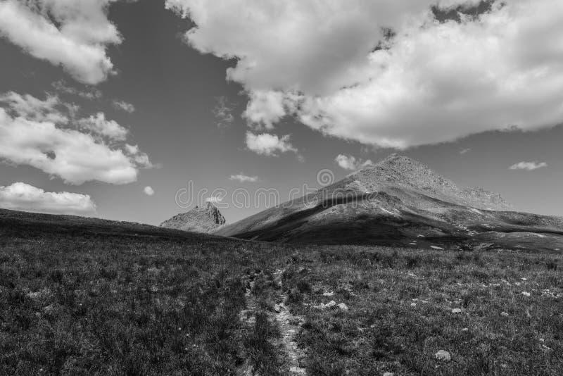 Montagnes de chaîne de San Juan, le Colorado Rocky Mountains images libres de droits