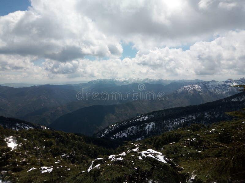 Montagnes de Chriaa photo stock