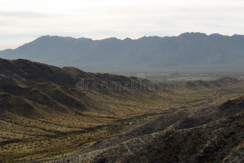 Montagnes de désert de l'Arizona image libre de droits