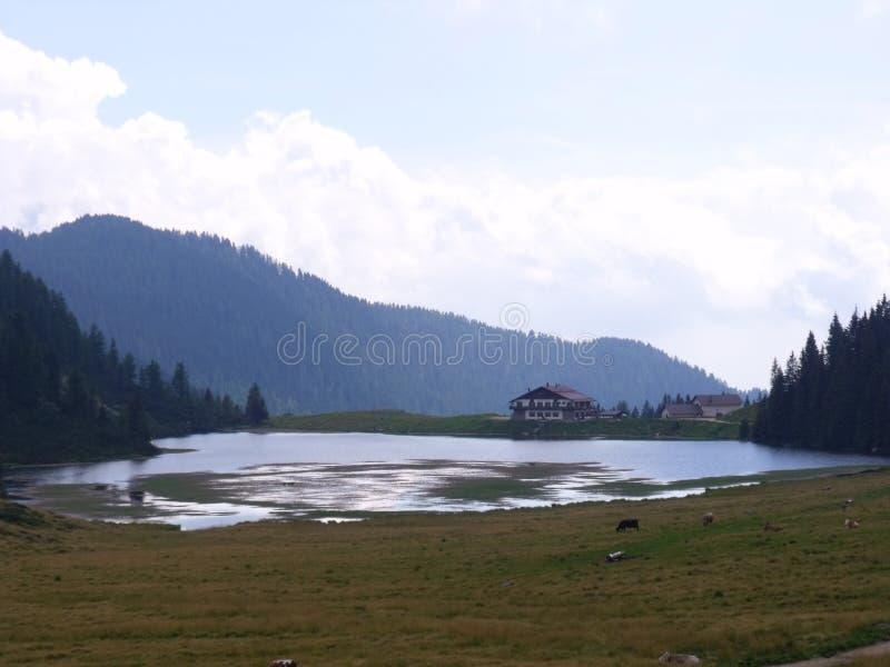 Montagnes de Dolomity photographie stock libre de droits