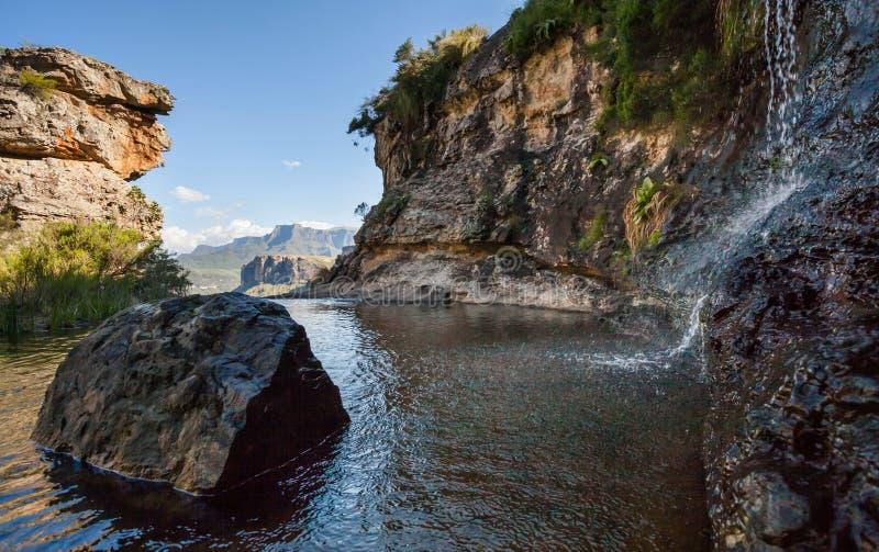 Montagnes de Drakensburg en Afrique du Sud 2 photo stock