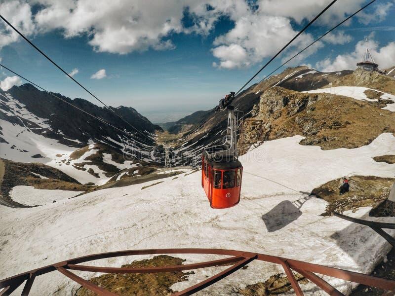 Montagnes de Fagaras, Carpathiens méridionaux, Roumanie image stock