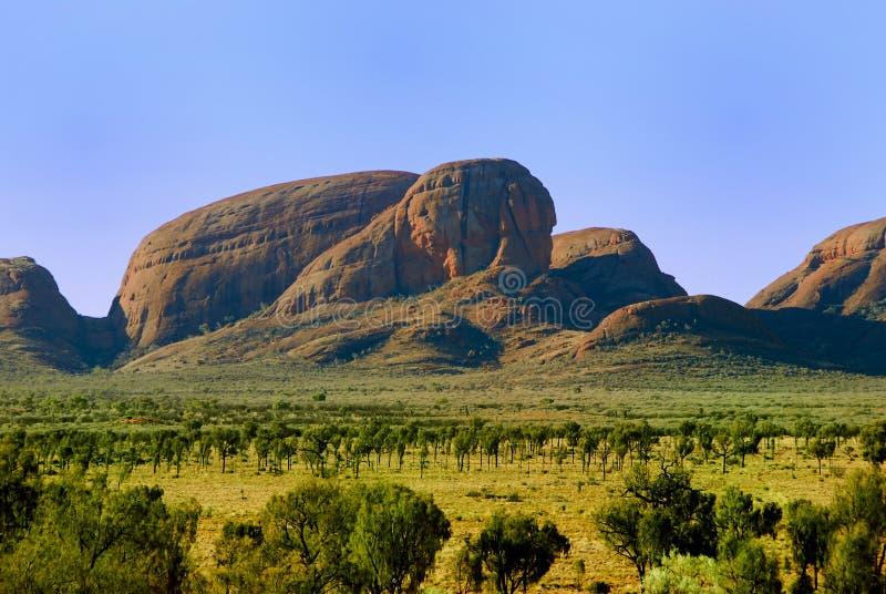Montagnes de granit photographie stock