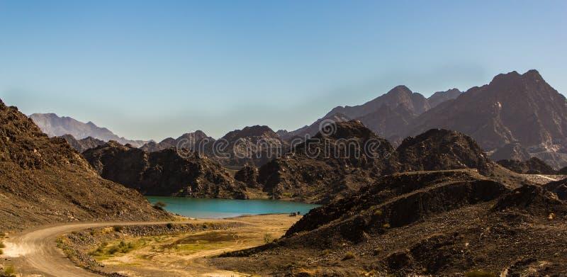 Montagnes de Hatta images stock