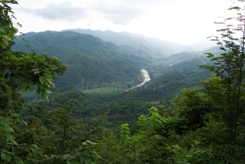 Montagnes de Huatulco images stock