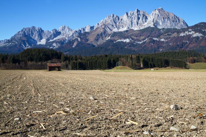 montagnes de Kaiserâ d'âZahmer au Tyrol, Autriche photos stock