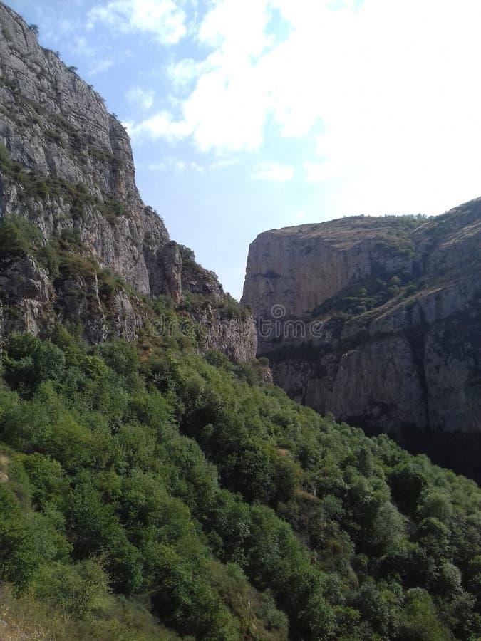 Montagnes de Karabakh image libre de droits
