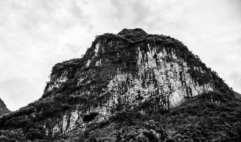 Montagnes de Karst à Guilin, Chine images libres de droits