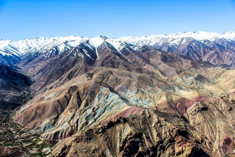 Montagnes de l'Afghanistan image libre de droits