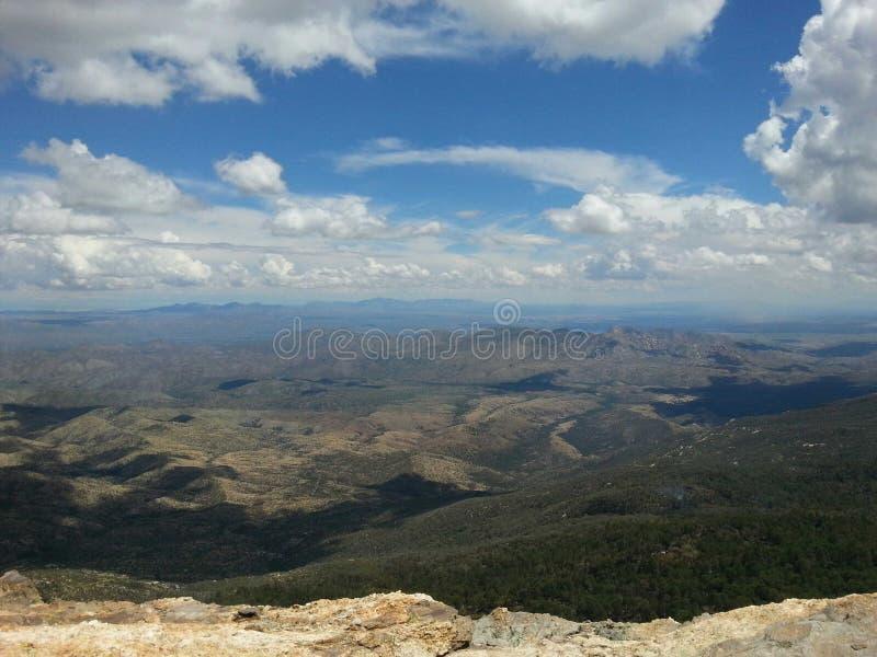 Montagnes de l'Arizona photos libres de droits