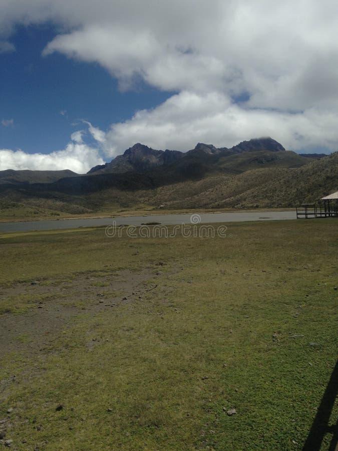 Montagnes de l'Equateur photo stock
