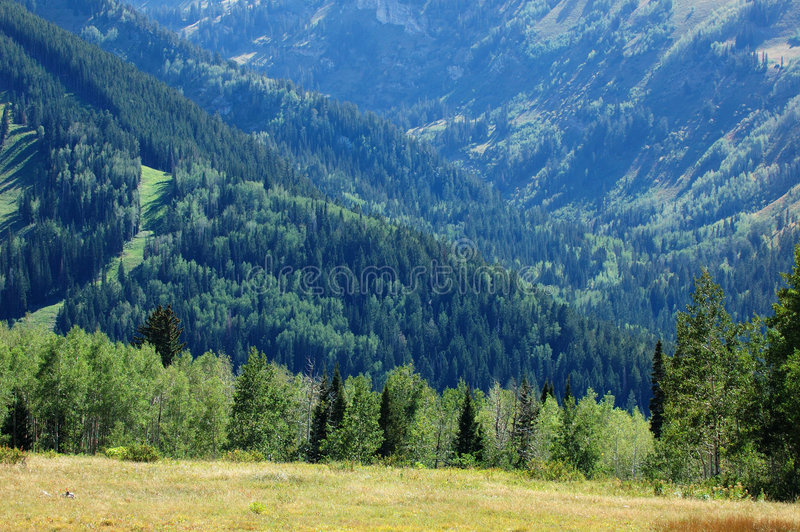 Montagnes de l'Utah images libres de droits